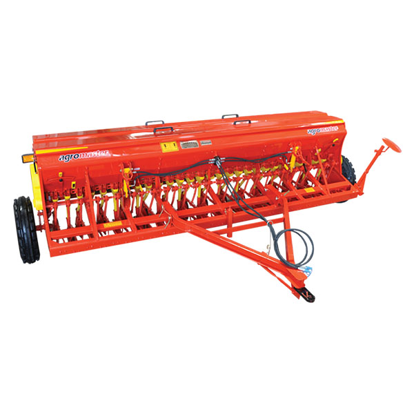 SEED DRILL WITH DOUBLE DISC